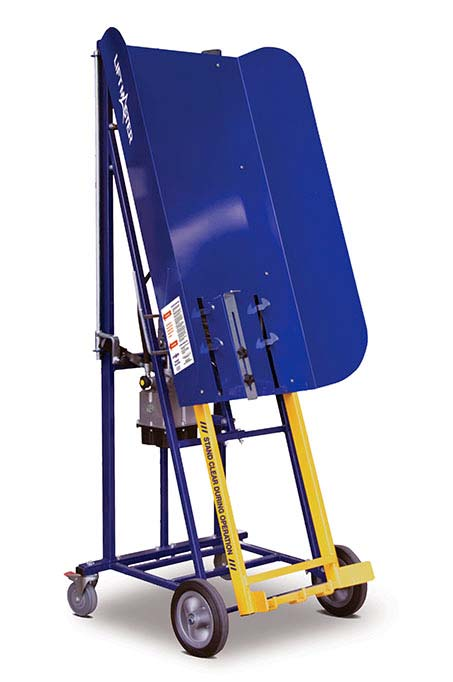 The Rugged (manual) bin lifter