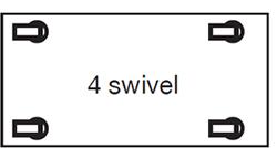 4 swivel