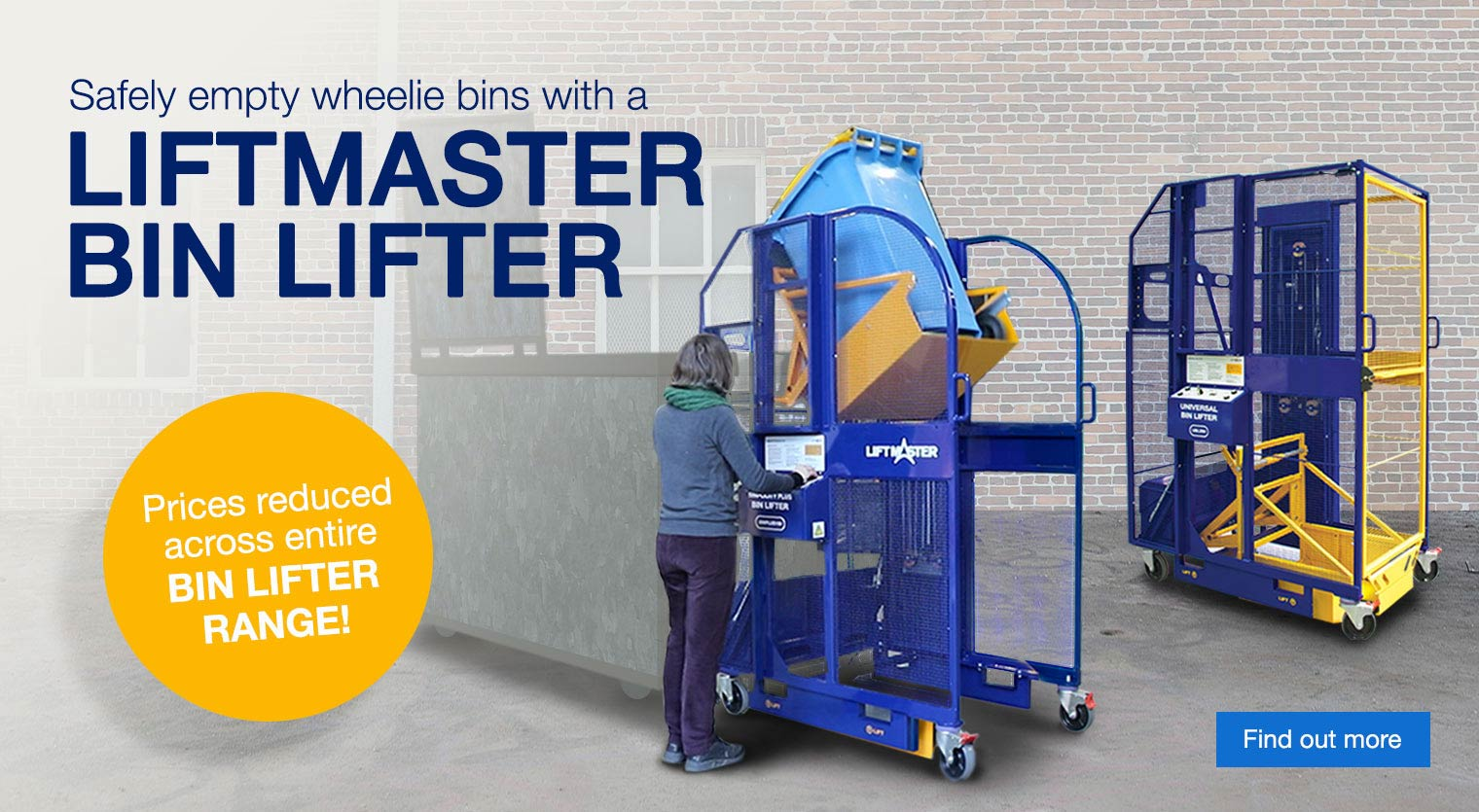 The benefits of using a bin lifter